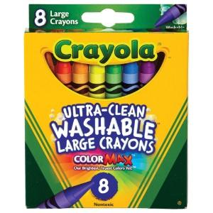 Crayola Large Washable Crayons - 8 Ct.
