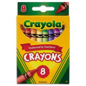 Crayola Crayons - 8 Ct.