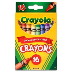 Crayola Original Crayons - 16 ct