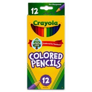 Crayola Colored Pencils - Long - 12 Ct.