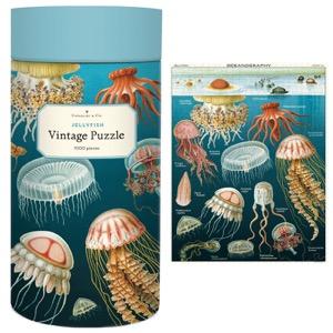 Cavallini Vintage Puzzle 1000pc Jellyfish