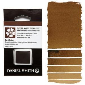 Daniel Smith Watercolor Half Pan - Burnt Umber