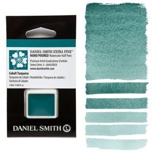 Daniel Smith Watercolor Half Pan - Cobalt Turquoise