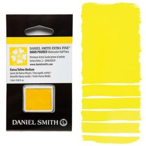 Daniel Smith Watercolor Half Pan - Hansa Yellow Medium