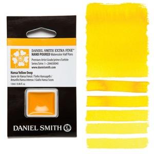 Daniel Smith Watercolor Half Pan - Hansa Yellow Deep
