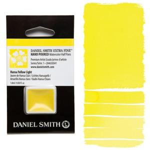 Daniel Smith Watercolor Half Pan - Hansa Yellow Light