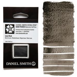 Daniel Smith Watercolor Half Pan - Lunar Black