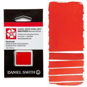 Daniel Smith Watercolor Half Pan - Pyrrol Scarlet