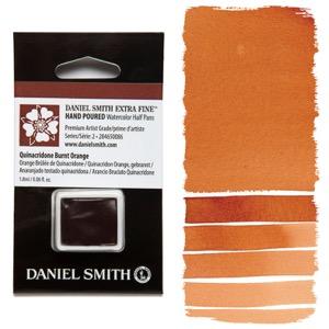 Daniel Smith Watercolor Half Pan - Quinacridone Burnt Orange