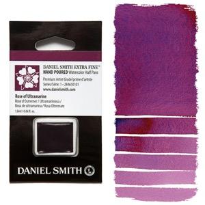 Daniel Smith Watercolor Half Pan - Rose of Ultramarine