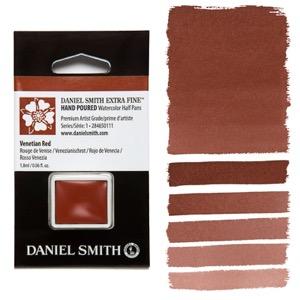 Daniel Smith Watercolor Half Pan - Venetian Red