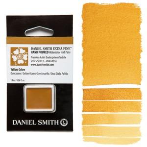 Daniel Smith Watercolor Half Pan - Yellow Ochre