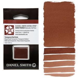 Daniel Smith Watercolor Half Pan - Transparent Red Oxide