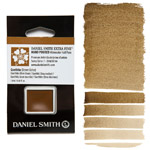 Daniel Smith Watercolor Half Pan - Goethite Brown Ochre