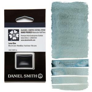 Daniel Smith Watercolor Half Pan - Lunar Blue