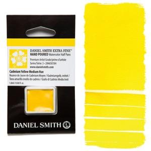 Daniel Smith Watercolor Half Pan - Cadmium Yellow Medium Hue
