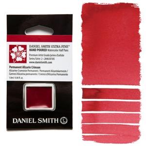 Daniel Smith Watercolor Half Pan - Permanent Alizarin Crimson