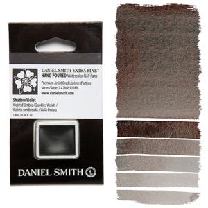 Daniel Smith Watercolor Half Pan - Shadow Violet