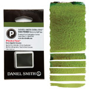 Daniel Smith Watercolor Half Pan - Green Apatite Genuine