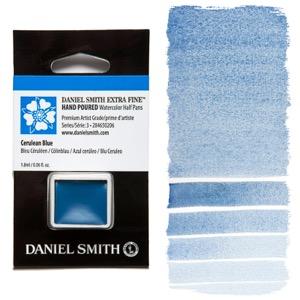Daniel Smith Watercolor Half Pan - Cerulean Blue