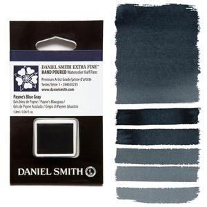 Daniel Smith Watercolor Half Pan - Payne's Blue Gray