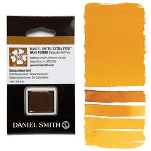 Daniel Smith Watercolor Half Pan - Quinacridone Gold