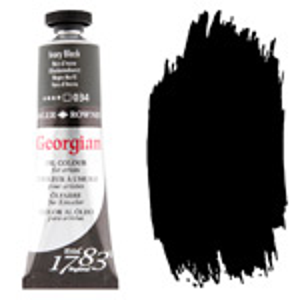 Georgian Oil Color 38ml Ivory Black