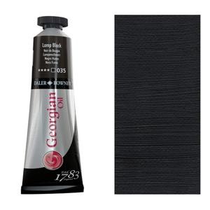 Georgian Oil Color 38ml Lamp Black