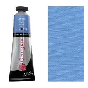 Georgian Oil Color 38ml Light Blue