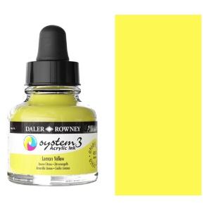 System 3 Ink 29.5ml Lemon Yellow