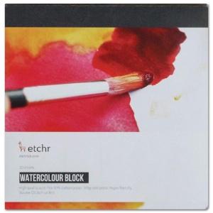 "Etchr Watercolor Paper Block 8"" Square"
