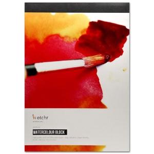 "Etchr Watercolor Paper Block A4 (8.3"" x 11.7"")"