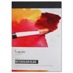 "Etchr Watercolor Paper Block A5 (5.8"" x 8.3"")"