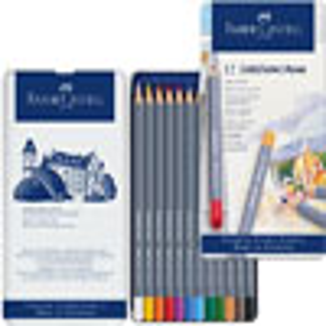 Faber-Castell Goldfaber Aqua Color Pencil - 12 Tin Set