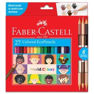 Faber-Castell World Colors 27 EcoPencils
