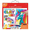 Do Art Coloring W/ Clay Unicorn