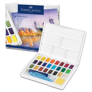 Faber-Castell Watercolor Pan 24 Color Set