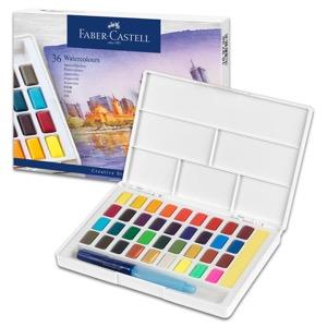 Faber-Castell Watercolor Pan 36 Color Set