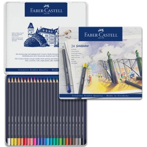 Faber-Castell Goldfaber Color Pencil - 24 Tin Set