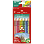 Faber-Castell GRIP Colored EcoPencils - 12 count