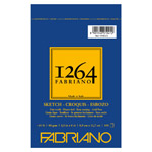 "Fabriano 1264 Spiral-Bound Sketch Pad 3.5"" x 5"""