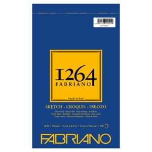 "Fabriano 1264 Spiral-Bound Sketch Pad 5.5"" x 8.5"""