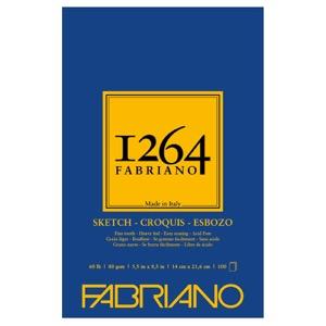 "Fabriano 1264 Glue-Bound Sketch Pad 5.5"" x 8.5"""
