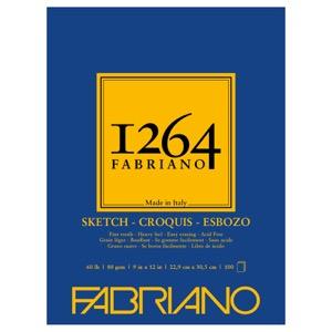 "Fabriano 1264 Glue-Bound Sketch Pad 9"" x 12"""