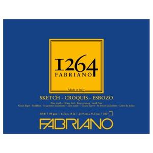 "Fabriano 1264 Glue-Bound Sketch Pad 11"" x 14"""