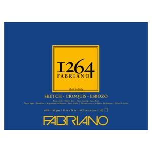 "Fabriano 1264 Glue-Bound Sketch Pad 18"" x 24"""