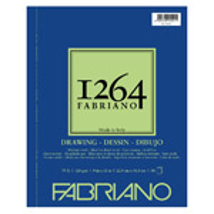 "Fabriano 1264 Drawing (75 lb) Pad 9"" x 12"""