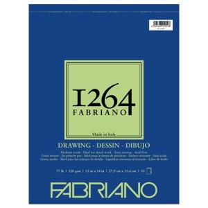 "Fabriano 1264 Drawing (75 lb) Pad 11"" x 14"""