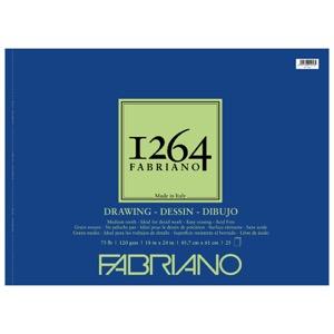 "Fabriano 1264 Drawing (75 lb) Pad 18"" x 24"""