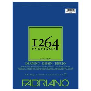"Fabriano 1264 Drawing (90 lb) Pad 11"" x 14"""